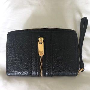 Marc Jacobs leather wallet/phone case wristlet